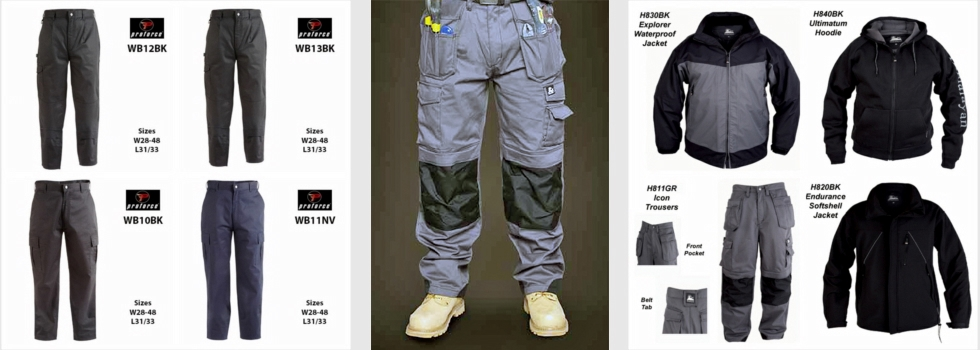 NOV 15 TROUSERS JACKETS PRPFORCE