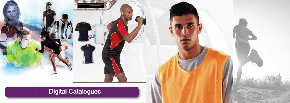 Digital Catalogue Sports Wear and Clothing  Collection
